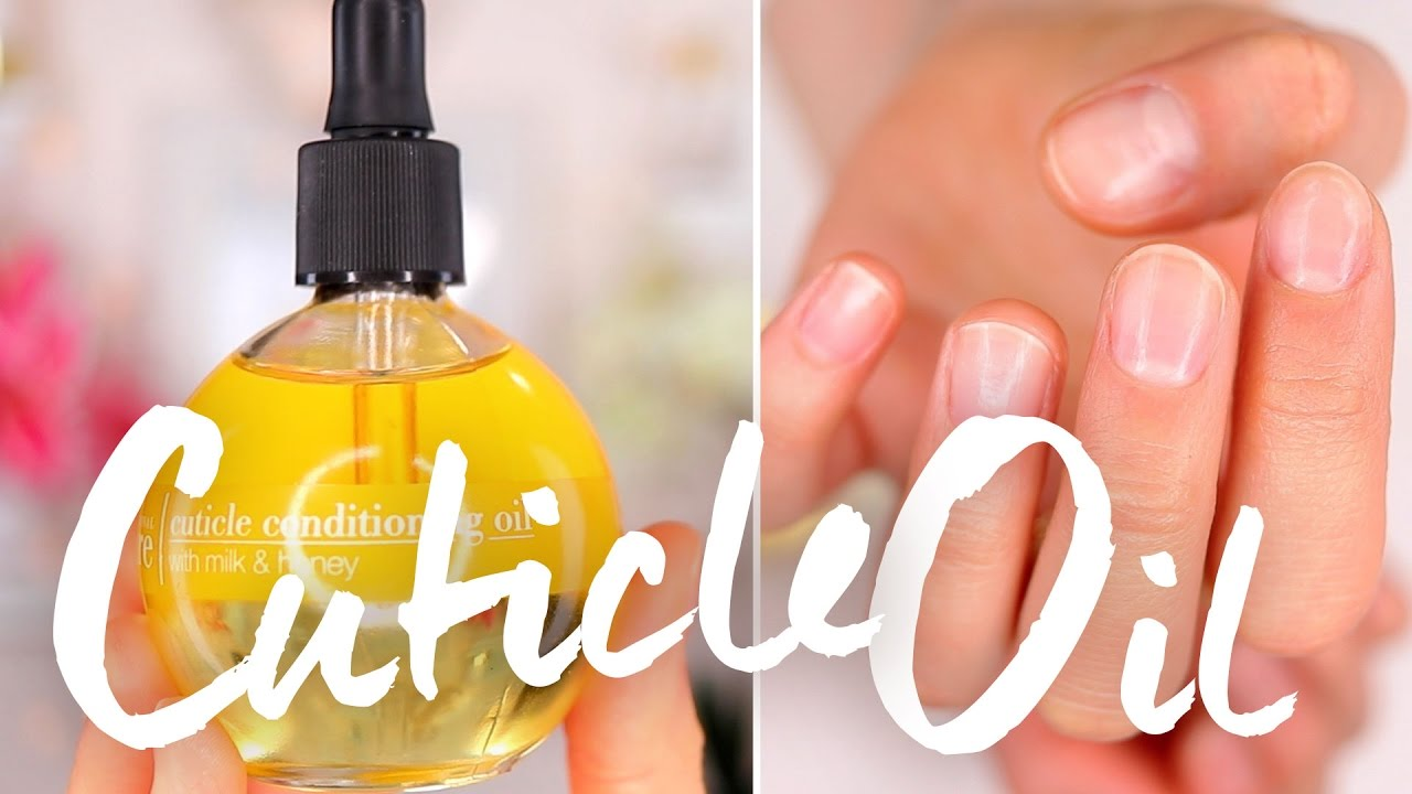 How I\'m Healing My Dry Cuticles | Cuccio Cuticle Oil Review - YouTube