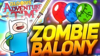 Bloons Adventure Time TD [PL] odc.4- Zombie balony !