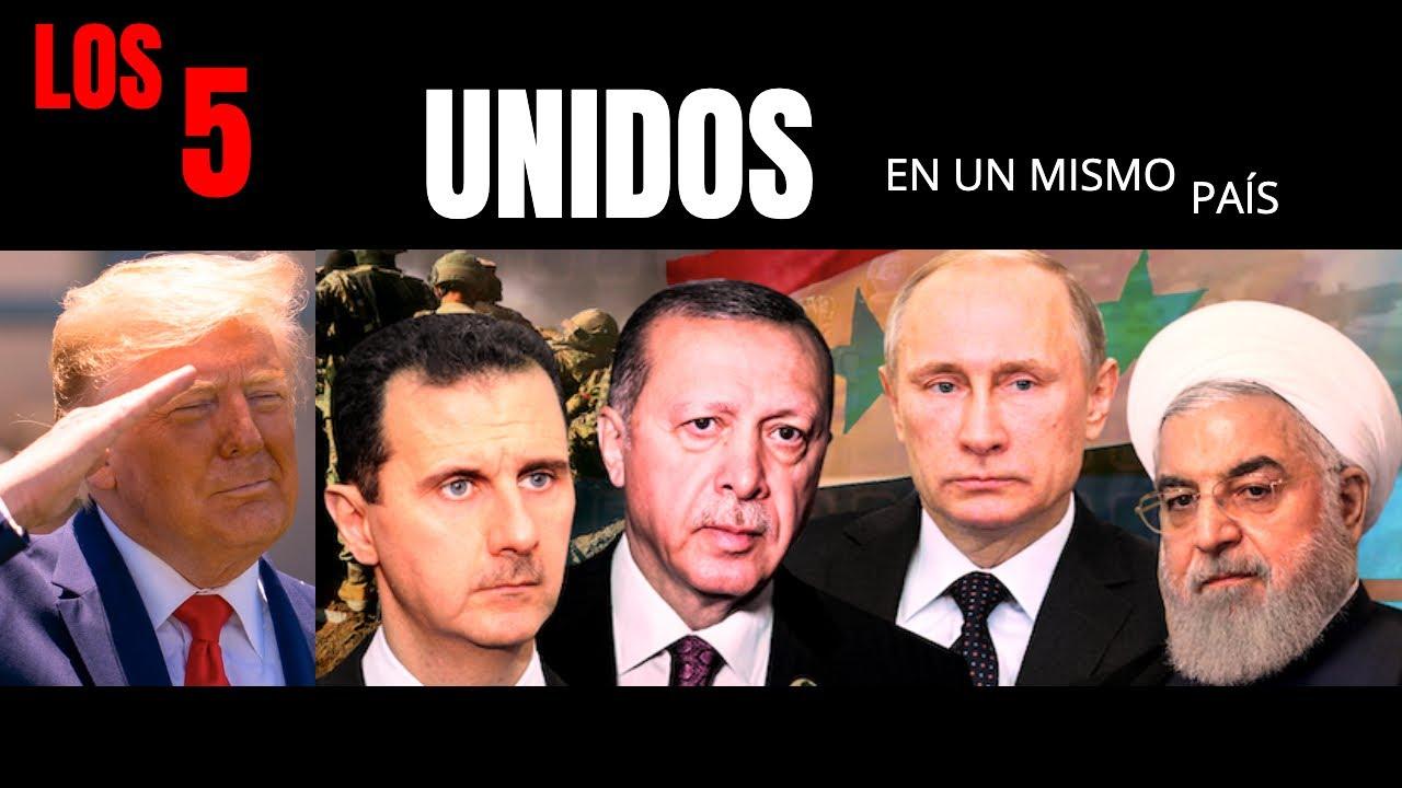 CÓMO RUSIA, EEUU, IRÁN Y TURQUÍA ESTAN UNIDOS POR EL MISMO INTERÉS: SIRIA