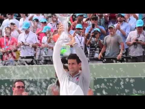 Your 2014 Sony Open Tennis Men's Champion, Novak Djokovic!