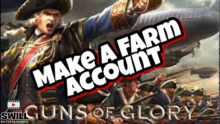 Guns of Glory   How To Make a Successful Farm Account (Android IOS)