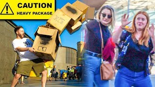 GRAVITY BOX PRANK... (Hilarious Reactions!!)