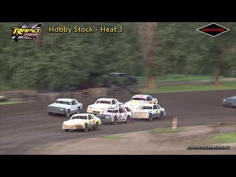 Hobby Stock Heats - Rapid Speedway - 6/29/18