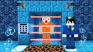 Minecraft: EU FUI PRESO EM UMA BASE SECRETA DEBAIXO D