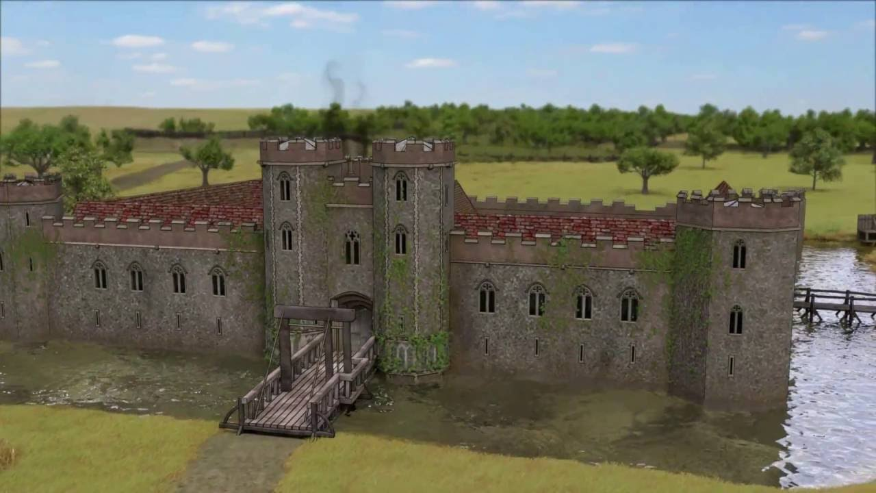 f6dacbb1a2 Wingfield Castle Reconstruction - YouTube