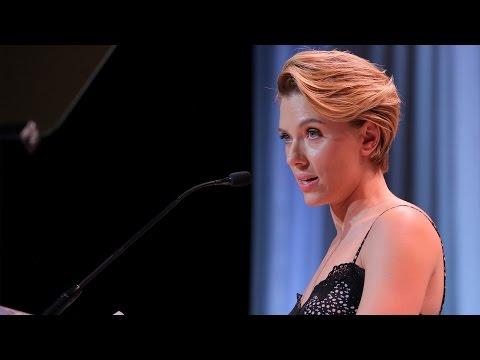 Scarlett Johansson - Variety's Power of Women Full Speech