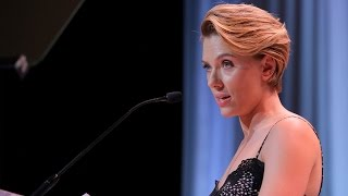 Scarlett Johansson - Variety's Power of Women Full Speech