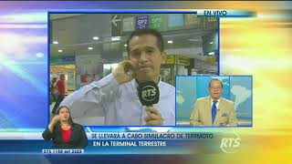 Sismo en Guayaquil se sintió mientras se efectuaba un simulacro de terremoto