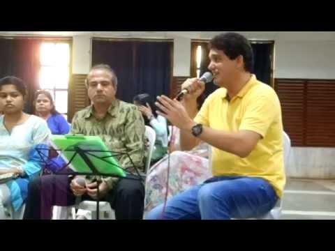The great Suresh Wadkar ji & Dr Rahul Joshi singing Huzur is Kadar..