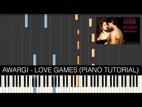 AWARGI - Love Games ( PIANO TUTORIAL)