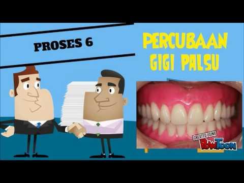 Proses Pembuatan Gigi Palsu