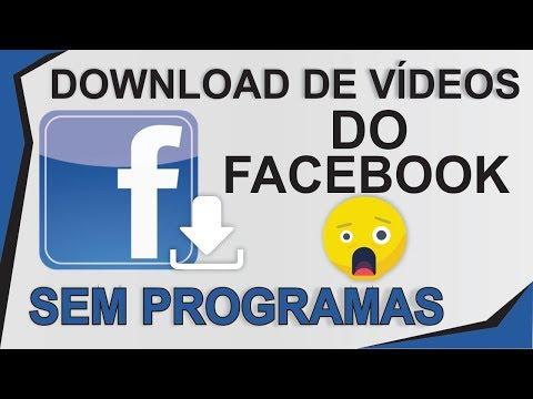 COMO BAIXAR VIDEOS DO FACEBOOK NO PC SEM APLICATIVO – (ATUALIZADO 2018)