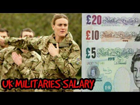 UK MILITARY SALARY || WORLD BANK || 2018