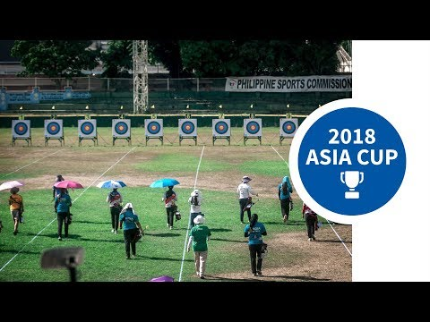 Recurve Team And Mixed Team Finals  Manila 2018 Asia Cup Stage 2