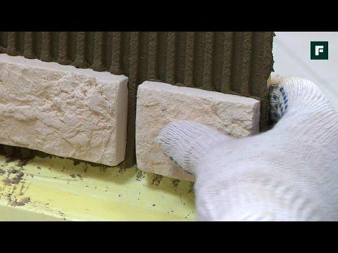 Облицовка фасада декоративной плиткой //FORUMHOUSE