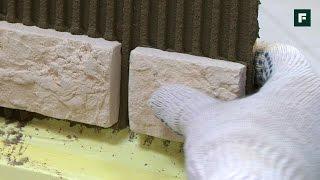 Облицовка фасада декоративной плиткой //FORUMHOUSE(Облицовка фасада клинкерной плиткой, натуральным или искусственным камнем смотрится выигрышно и облагора..., 2016-10-10T07:47:02.000Z)