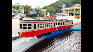 Plarail Meitetsu 510 プラレール 名鉄 モ510 visit Miryang Station, South Korea  (04425)