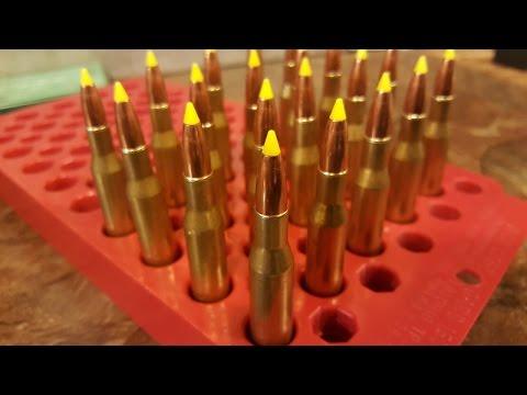 Hornady Electric Powder Measure, Nosler 130 Grain Yellow Tip - Part 3 of   270 Reloads