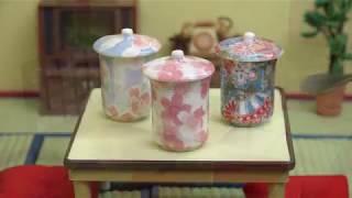 MiniFood Chawan-mushi 食べれるミニチュア 茶碗蒸し  Chawan-mushi is one of the Japanese cuisines