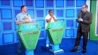 The Price is Right - Showcase Results - 2/17/2012