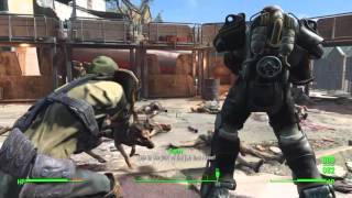 Fallout 4 PS4 - Fire Support - Cambridge Police Station