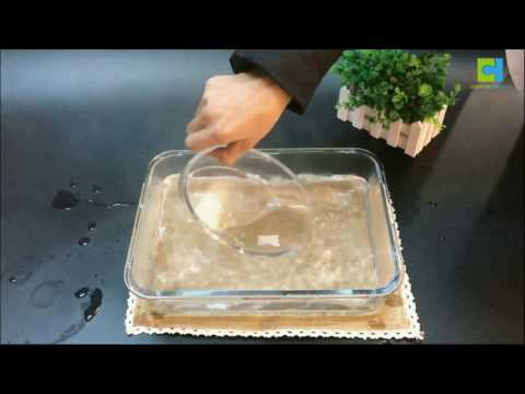 High borosilicate glass bakeware thermal shock test