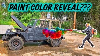 Stolen Recovery Jeep Gets New Paint!