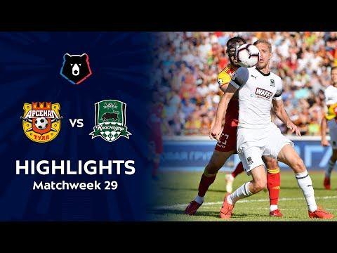 Highlights Arsenal vs FC Krasnodar (0-3)