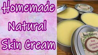 Homemade Natural Skin Cream