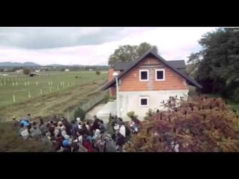 Migrants Slovenia 20 octobre 2015