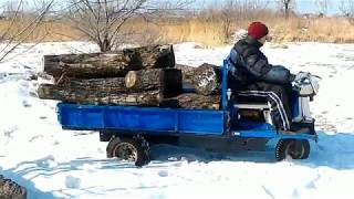 Самоходная тележка Sikoku.(, 2018-02-25T01:23:19.000Z)