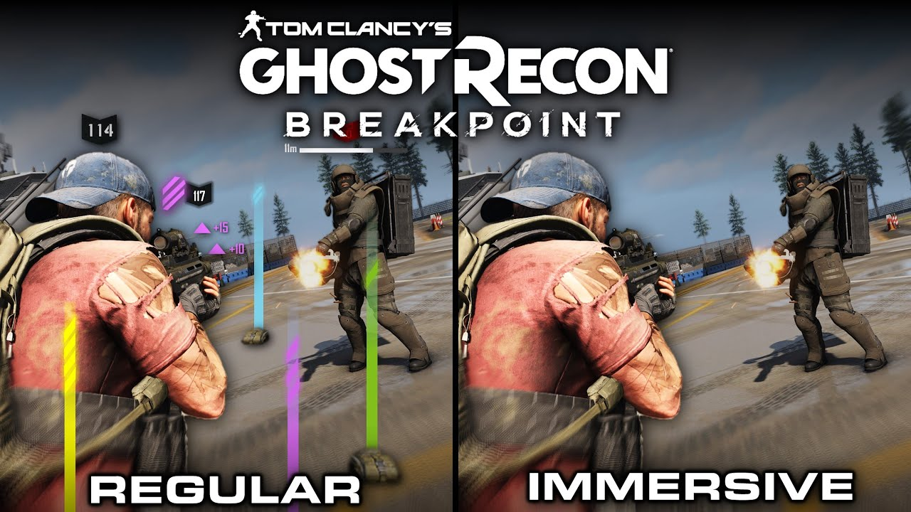 Ghost Recon: Breakpoint (Ghost Experience) Immersive vs Regular | Direct Comparison thumbnail
