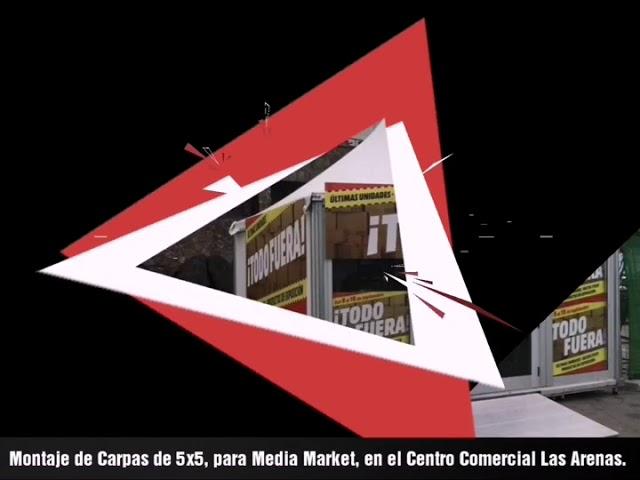Montaje de stand para Media Markt