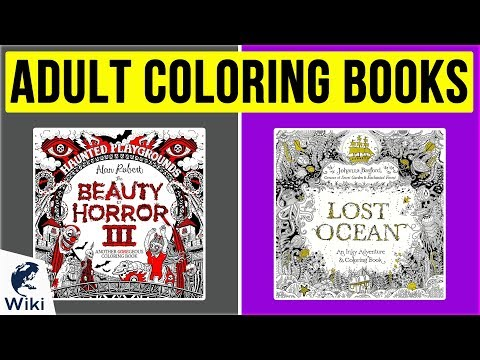 10 Best Adult Coloring Books 2020