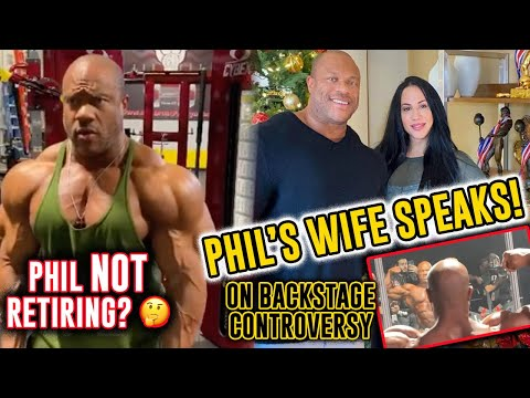 Phil Heath's Wife Speaks on Backstage Video saga from 2020 Mr Olympia + Phil Heath Physique Update!