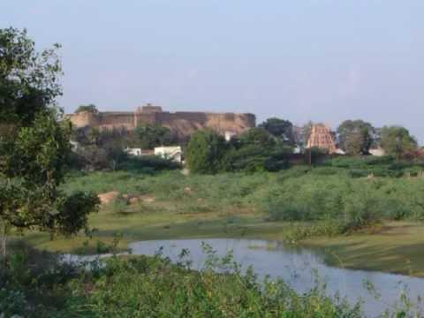 Thirumayam Fort & Temple Sculptures Tamilnadu