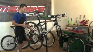 MAXBIKE - Demontáž a montáž kol