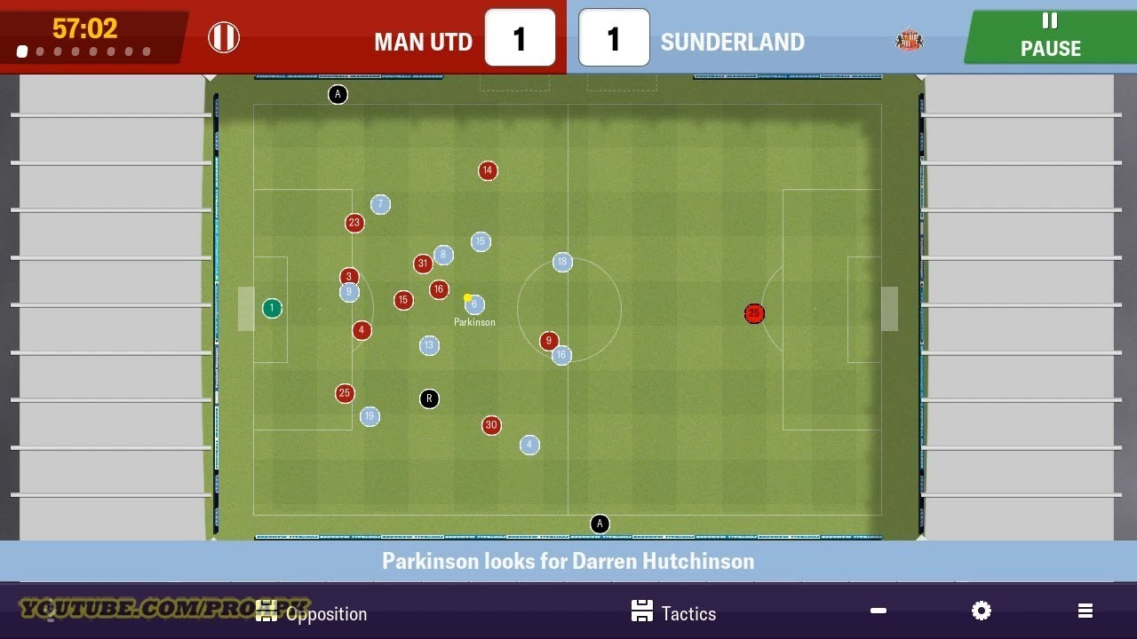 Football Manager 2019 Mobile Gameplay Android / iOS