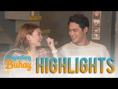 Magandang Buhay: Angelica and Zanjoe talk about their first date
