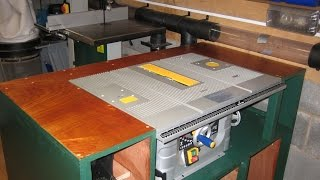 Video 5 Table saw and Router station