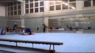 Спортивная гимнастика - открытый урок 2012