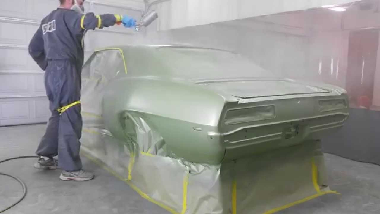1969 CHEVROLET CAMARO PAINT FROST GREEN SATA PART 1