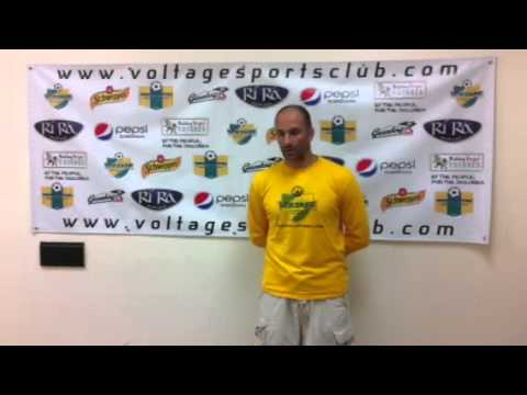 Vermont Voltage post game interview