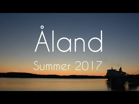 TWO DAYS AT ÅLAND ISLANDS // SHIPS & FERRIES