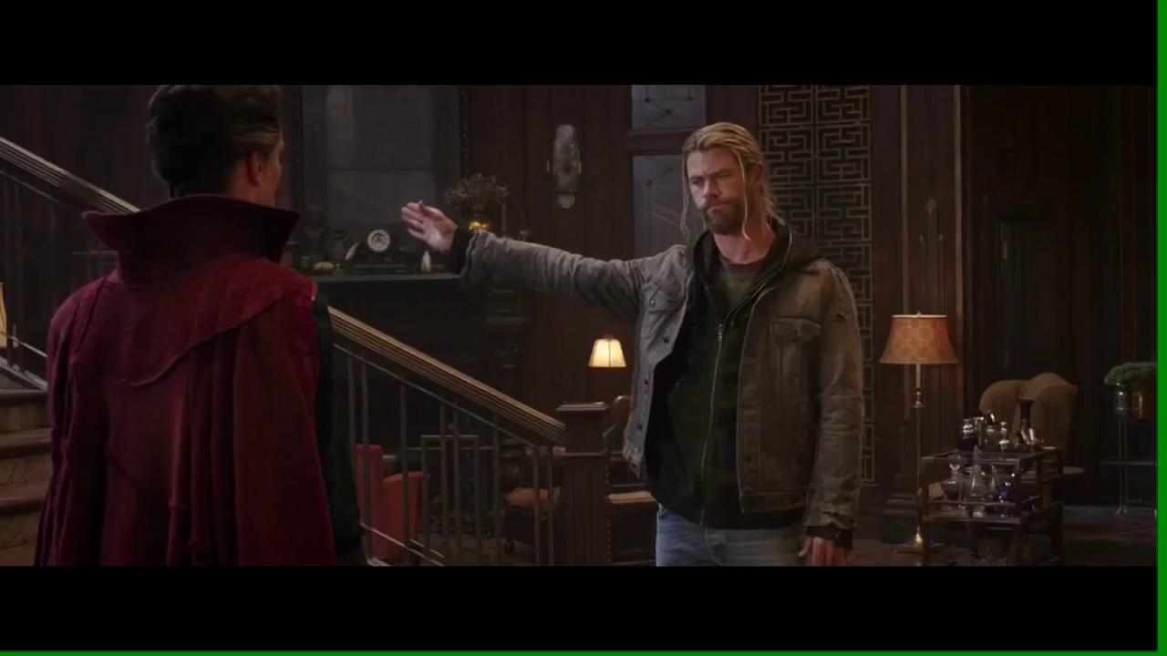Thor Ragnarok: Doctor Strange Scene - YouTube