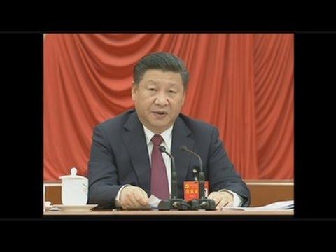 """Xi Jinping es proclamado """"líder central"""" del Partido Comunista chino"""