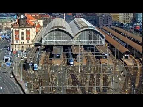 Prague main station at Friday 26th February, 2016.
