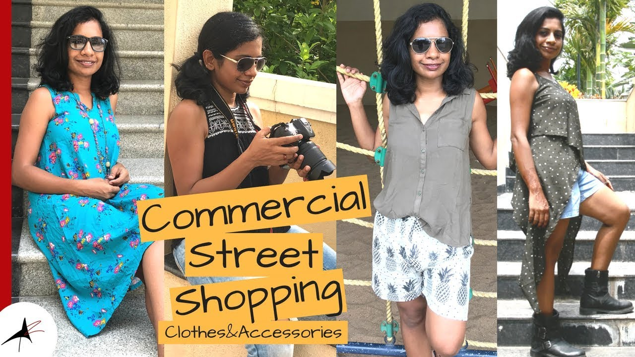 COMMERCIAL STREET BANGALORE SHOPPING 2018   Clothes & Accessories With Prices   Arpitharai