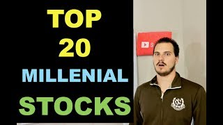 Top 20 Stocks Held By Millennials... scary