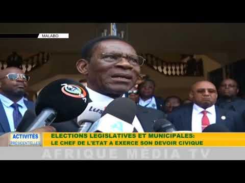 ACTIVITÉS PRÉSIDENTIELLES MALABO DU 18 11 2017